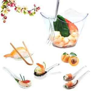 Food services and packaging items catering