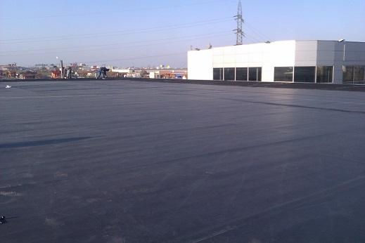 EPDM membrane is provided for green terraces and prefabricated root resistant to the required dimensions.