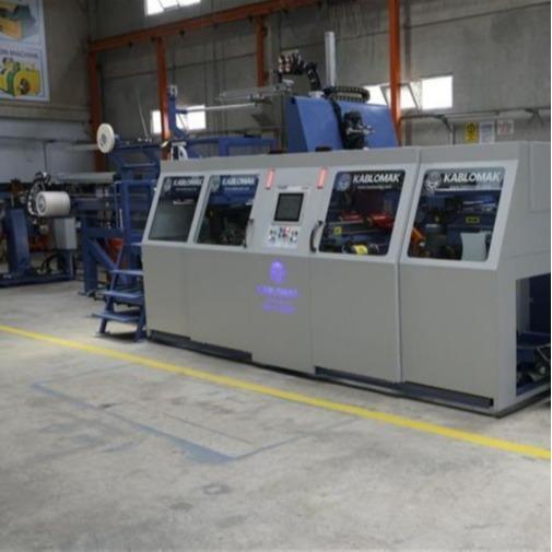 Automatic Double Reel winding line D 400-800   automatic double head spool windi