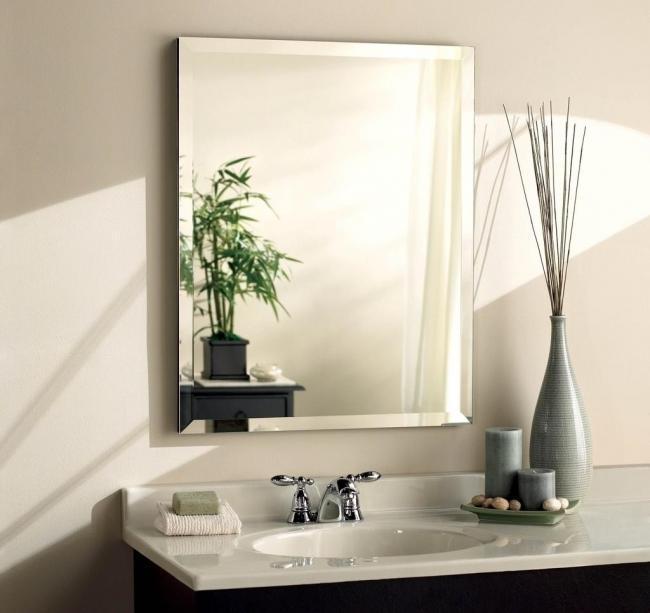 wall mirror beveled edge