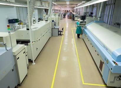 Incotex owns 19 high-speed SMT lines