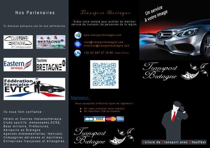 Presentation  des  services TRANSPORT BRETAGNE