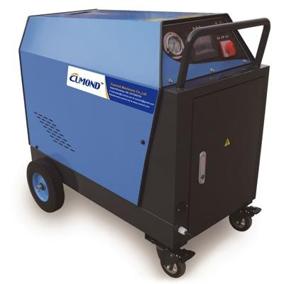 Diesel steam and hot&cold water cleaning machine