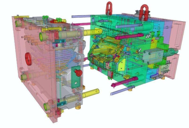 Moldes Barcelona have CAD CAM CAE for mould construction.