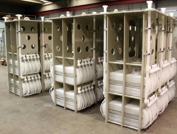 Scambiatori di calore in materiale plastico