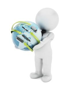 Weltweite Logistik