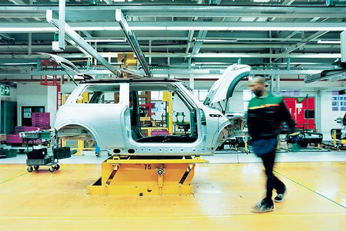 PROTEC Anti-spatters in automotive industry