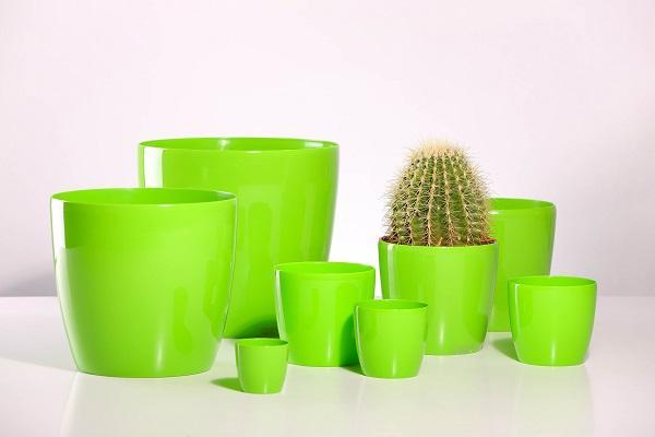 Plastic flowerpots sizes diam 7,10,12,14,17,20,25,30