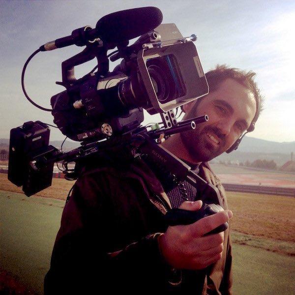 Un día cualquiera trabajando como operador de cámara ;)