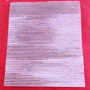 Corrugated Mica is made from Muscovite mica. It can withstands high temperatures of above 700°C.This mica is supplied as per customer's specification.The main use of this type of is in soldering iron.
