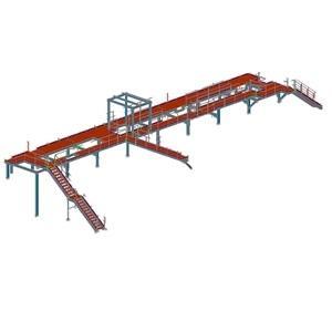 Calcul et conception d'une charpente métallique suivant Eurocodes pour une usine de traitement des déchets en zone Euro - Advance Design et Advance Steel