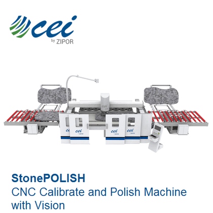 CNC Calibrate and Polish Machine with Vision