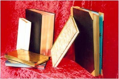 Doratura e labbratura di libri e cataloghi