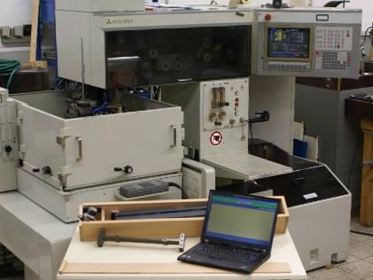 Vermessen von Industriemaschinen