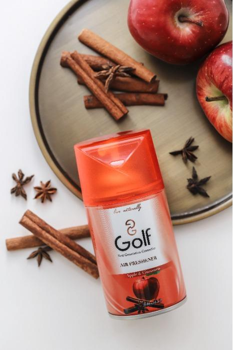 Golf Air Freshener 260 ML Apple&Cinnamon