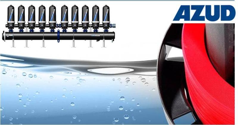 Helix Automatik Scheibenfilter. Der herausragende Rückspülfilter für die industrielle Filtration von Flüssigkeiten.