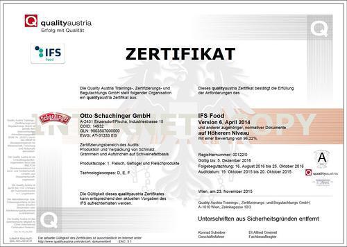 IFS quality Austria
