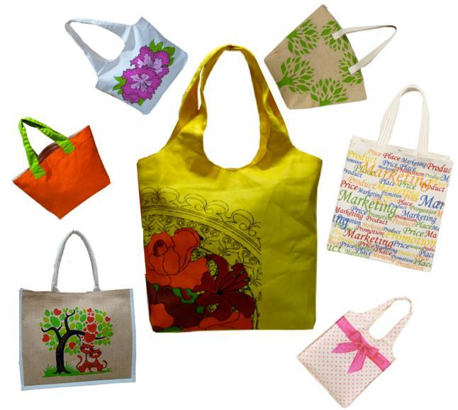 Eco-friendly Jute and Cotton Bags
