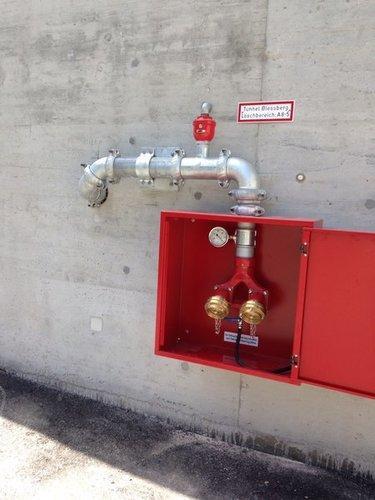 Tunnel-Löschwasser-Leitungssysteme