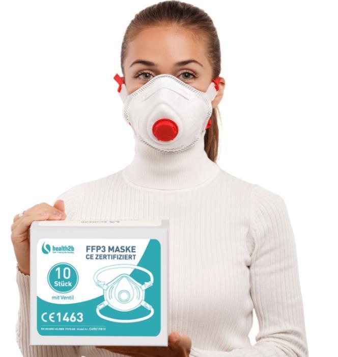 FFP3 Atemschutzmaske CE-Zertifiziert