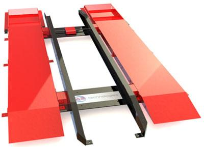 Système de pesage de bennes amovibles. Portée 50 tonnes. Conforme à la norme NF R17-108 août 2001
