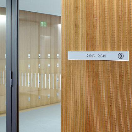 Zeitloses Design für ein weitreichendes Einsatzgebiet. Die große Beschriftungfläche bietet jede Menge Raum für individuelle Gestaltung.