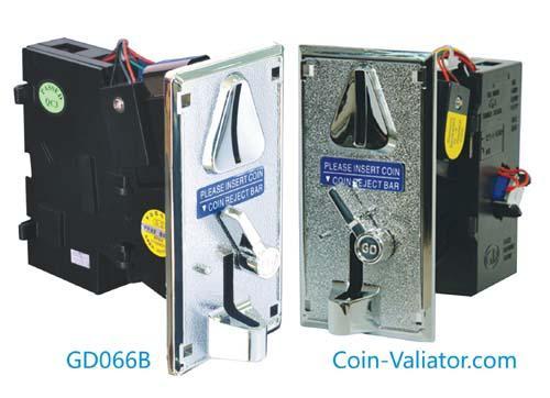 GD066B   Aceptadores de monedas