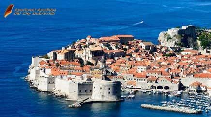 The old city Dubrovnik from 14 century still has it's stone city walls in place. Spending your holiday within the city walls is a unique holiday.
