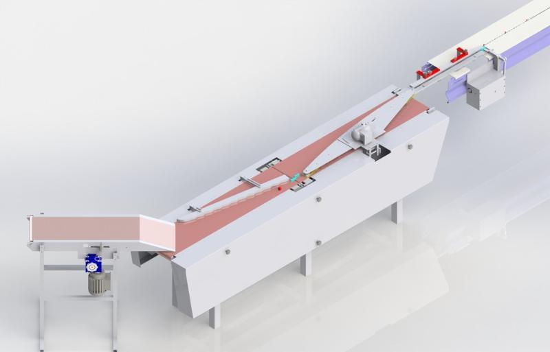 Paketlenecek ürün ölçüleri ve yapıştırma şekline göre kapasite değişebilir Hız ayarlanabilir Ürün besleme konveyörü boyu 2000mm Yan ürün korumaları paslanmaz malzemeden ve ayarlanabilir