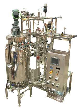 A bioreactor designed and manufacturing for 250 litres maximum working volume.