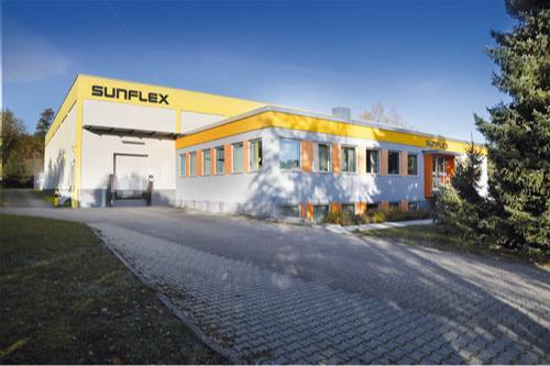 sunflex Hauptsitz in Schwabach