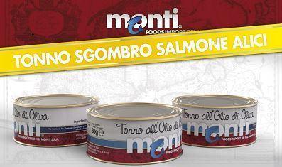 TONNO, SGOMBERO, SALMONE