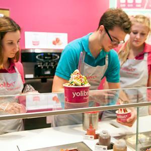 yolibri frozen jogurt