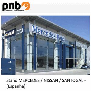 Stand Mercedes-Nissan-Santogal - Spain