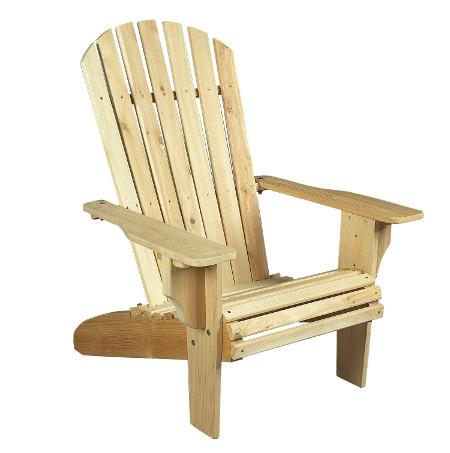 Chair Adirondack wood cedar American