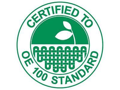Ce label, disponible uniquement sur les articles BIO, vous garantit la composition en coton organique de nos produits textiles fabriqués en Europe.
