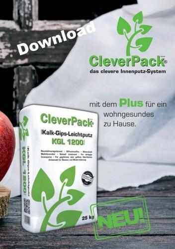 CleverPack Kalk-Gips-Leichtputz