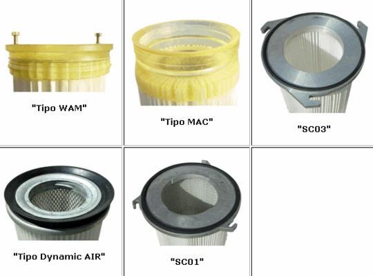 filtros cartuchos