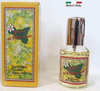Il profumo Zagara del Mediterraneo eccellenza Siciliana, nasce dal fiore degli agrumi Siciliani per regalarvi la sensazione di benessere e purezza che solo questa fragranza riesce a fare.