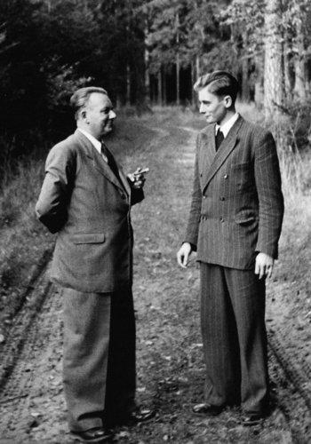 Adolf Würth und Reinhold Würth