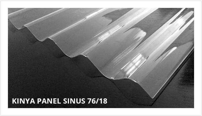 Corrugated Polycarbonate Panel