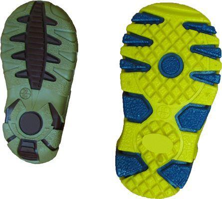 TRS solid thermoplastic rubber is the most  commonly ordered one, especially the kind with hardness of 50-55oSh A used to manufacture  children and youth footwear.
