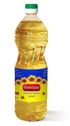 Refined sunflower oil with our own brand Galatipex.