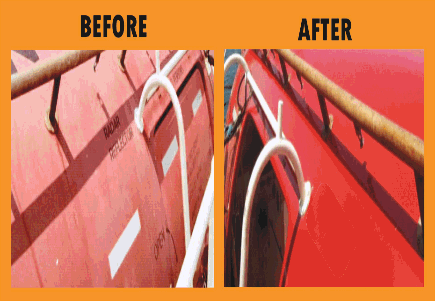 MAGIC HD COAT - BEFORE AND AFTER COATING