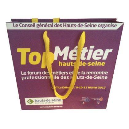 Sac papier couché Top Métier