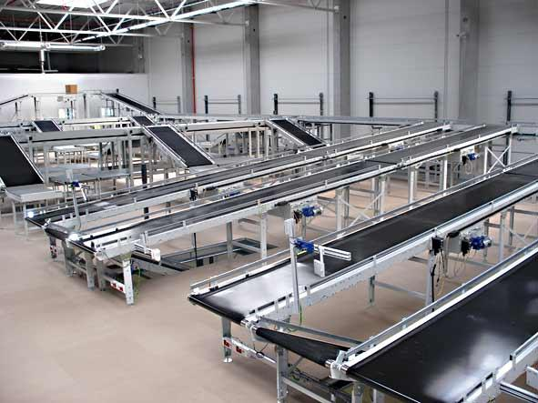 Belt conveyors installed at 3PL
