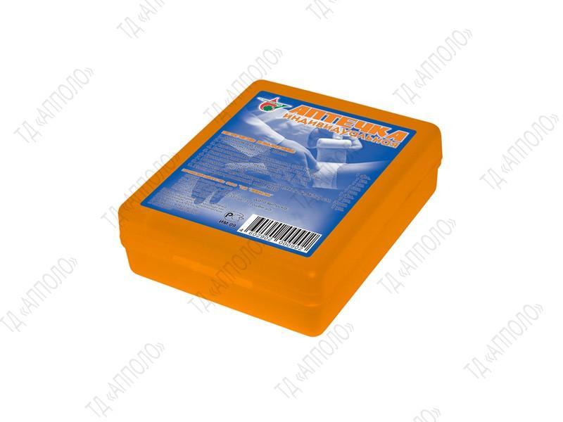 Аптечка содержит все необходимые средства для оказания само- и взаимопомощи при незначительных травмах и легких недомоганиях. Компактный вариант аптечки идеально помещается в карман.