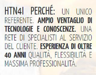 Una rete di specialisti al servizio del cliente