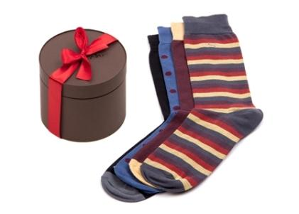 Gift box with fancy socks