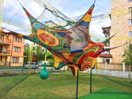 Hand crochet playground!